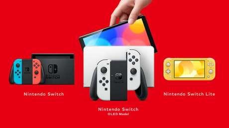 Os modelos de Switch