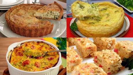 Receitas de tortas vegetarianas