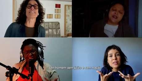 Artistas pelo impeachment de Bolsonaro gravam a música Desgoverno