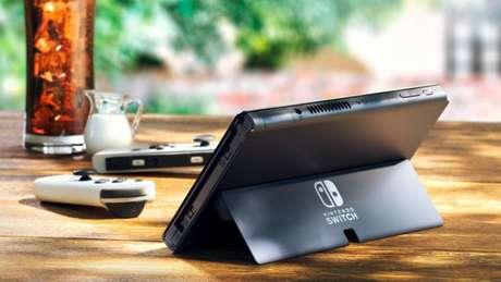 Apoio traseiro do Nintendo Switch OLED
