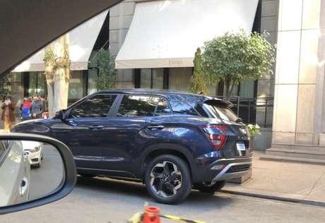 Novo Hyundai Creta nacional terá lanternas iguais ao modelo russo.