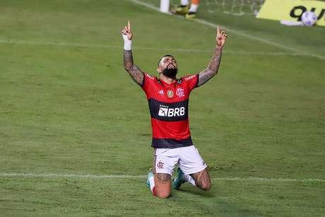 Gabigol é o segundo maior artilheiro do time carioca no Campeonato Brasileiro