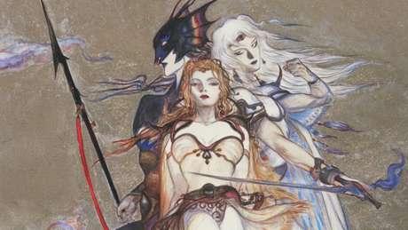 Kain, Rosa e Cecil, um dos primeiros triângulos amorosos dos games