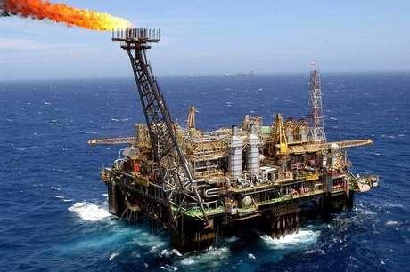 Plataforma da Petrobras no litoral do Rio de Janeiro