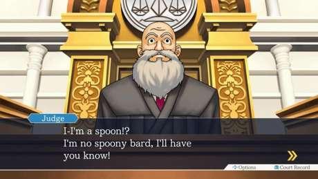"""O juiz gostaria de deixar claro que não é nenhum bardo """"colherudo"""""""
