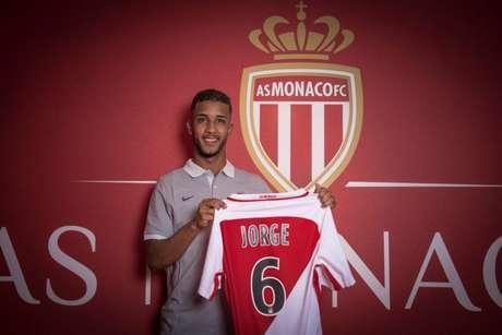 Jorge chegou ao Mônaco em 2017 (Foto: Divulgação/AS Monaco)