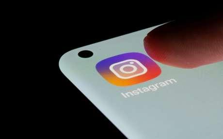 Logotipo do Instagram em um smartphone. 13/7/2021. REUTERS/Dado Ruvic