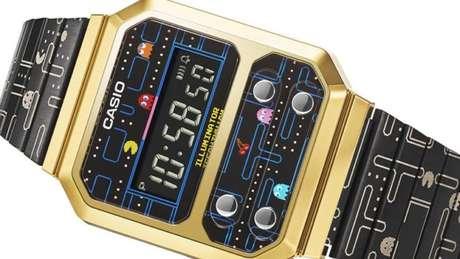 Relógio modelo A100WEPC