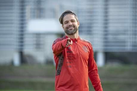 Desde 2016 no Fla, Diego Ribas soma 230 jogos pelo clube (Foto: Alexandre Vidal/Flamengo)