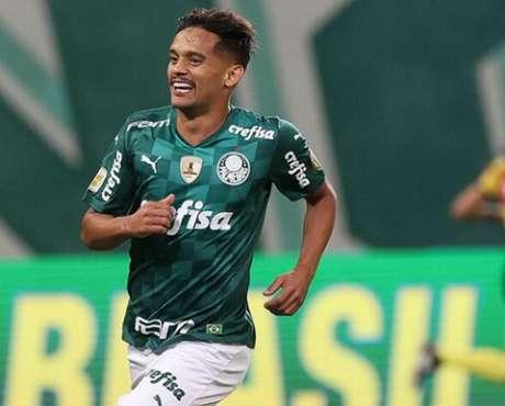 Gustavo Scarpa chegou a 30 gols com a camisa do Palmeiras (Foto: Cesar Greco/Ag. Palmeiras)