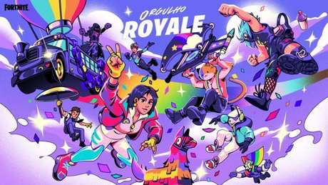 Orgulho Royale já está em Fortnite