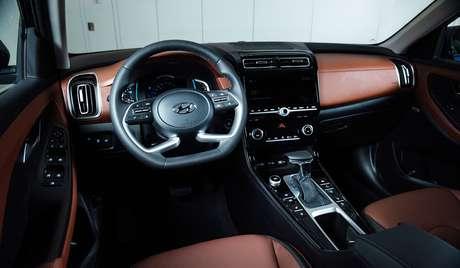 Interior do novo Hyundai Creta brasileiro será idêntico ao modelo russo.