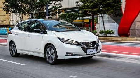 Nissan Leaf passará a ser vendido em 44 concessionárias em todo o país.