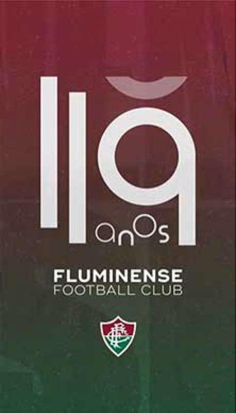 Craques e garotos da base deram os parabéns ao Fluminense pelos 119 anos (Divulgação / Fluminense)