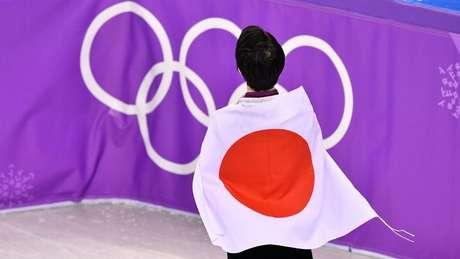 Bandeira nacional do Japão é chamada de Hinomaru, que significa literalmente 'círculo solar'
