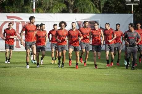 Flamengo terá força máxima para encarar o Defensa y Justicia (Foto: Alexandre Vidal/Flamengo)