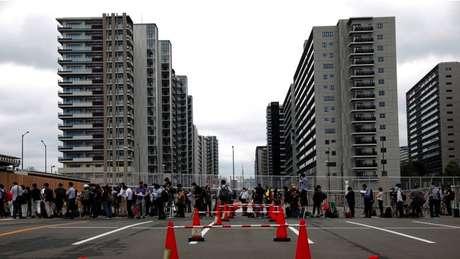 Vila Olímpica, tradicionalmente um espaço de confraternização e festa, será muito diferente em Tóquio