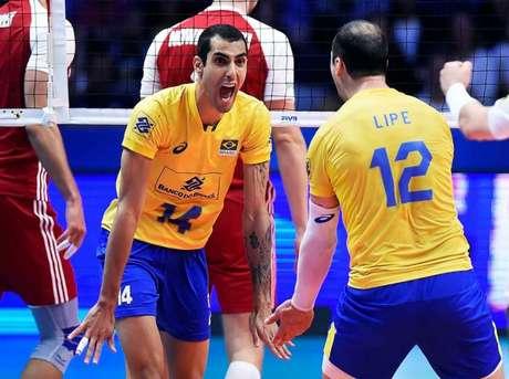 Douglas Souza já conquistou o ouro Olímpico com a Seleção Brasileira na Olimpíada do Rio de Janeiro, em 2016 (Divulgação)