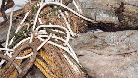 Mulher foi amarrada com seis tipos diferentes de corda