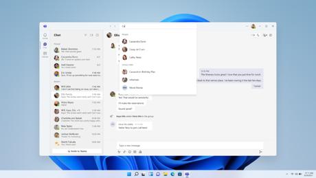 Microsoft Teams no Windows 11