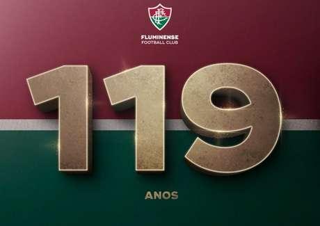 Fluminense completa 119 anos nesta quarta-feira (Foto: Reprodução)