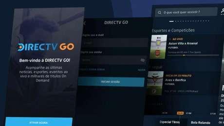 App do DirecTV Go