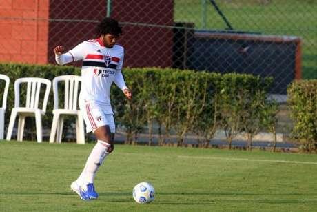 Pedro Lucas falou sobre o bom momento do São Paulo sub-20 na temporada (Foto: Divulgação/São Paulo FC)