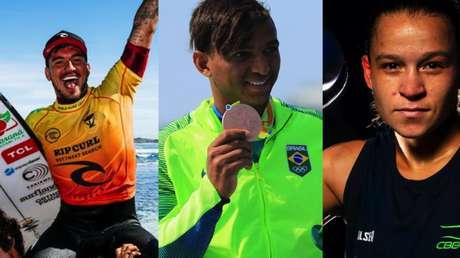 Gabriel Medina, Isaquias Queiroz (Canoagem) e Bia Ferreira (Boxe) são esperanças de medalhas do Brasil em Tóquio 2020