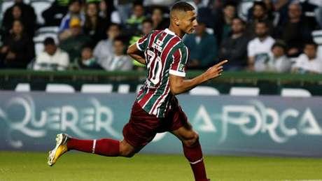 Richarlison em ação com a camisa do Fluminense (Foto: NELSON PEREZ/FLUMINENSE F.C.)