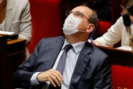 Primeiro-ministro da França, Jean Castex, durante sessão da Assembleia Nacional em Paris 20/07/2021 REUTERS/Pascal Rossignol