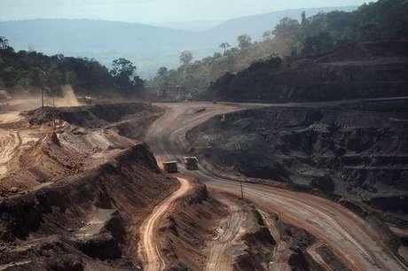 Mina de minério de ferro em Parauapebas (PA)  29/05/2012 REUTERS/Lunae Parracho
