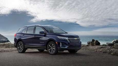 Chevrolet Equinox reestilizado deve chegar ao Brasil apenas com motor 1.5 turbo de 172 cv.
