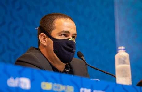 Jardine diz que Seleção Olímpica ainda está em formação (Foto: Thais Magalhães/CBF)
