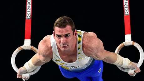 Arthur Zanetti foi ouro em Londres 2012 e prata na Rio 2016