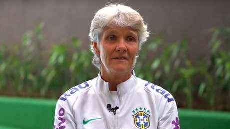 'Foi um jogo bastante difícil', ratificou a treinadora sobre o duelo nos Jogos Olímpicos (Reprodução/CBF TV)