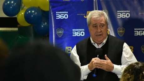 O presidente do Boca fez duras críticas ao Galo e ao VAR-(Divulgação/Boca Juniors)