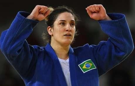 Mayra Aguiar é um dos principais nomes do judô brasileiro
