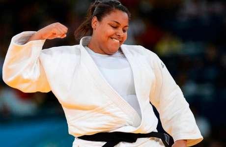 Tóquio marca a despedida de Maria Suelen Altheman da Olimpíada (Foto: MIGUEL MEDINA / AFP)