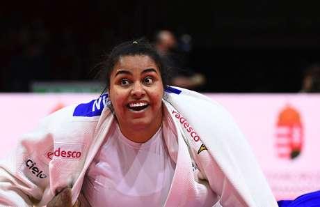Maria Suelen é uma das judocas mais experientes do Brasil