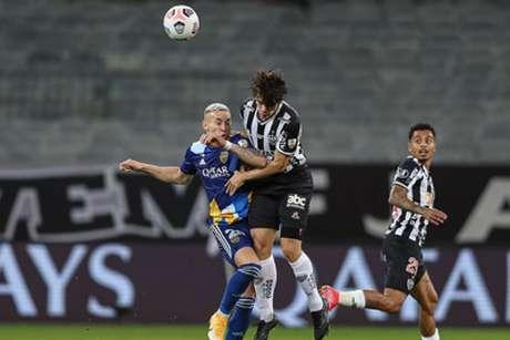 O duelo do Mineirão foi tenso, intenso e com muita entrega física para decidir a vaga às quartas de final-(Pedro Souza/Atlético-MG)