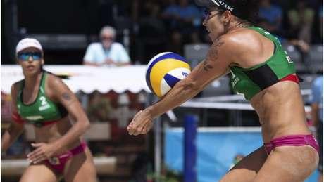 Ágatha (dir.) e Duda (esq.) são a principal esperança de medalha do Brasil no vôlei de praia