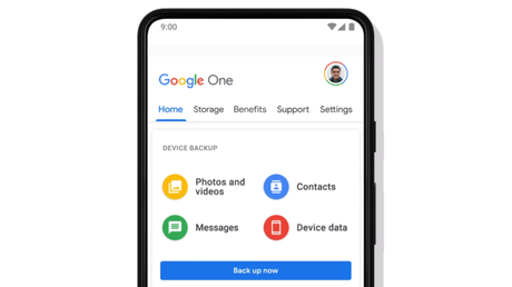 Google One no Android