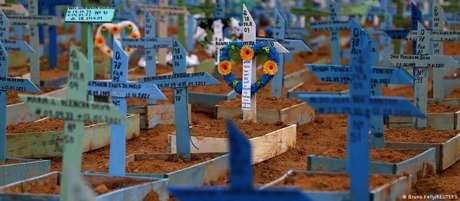 Segundo o levantamento, mais de 113 mil crianças ficaram total ou parcialmente órfãs devido à covid-19 no Brasil