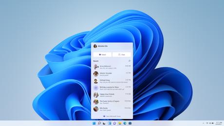 Botão de chat do Windows 11