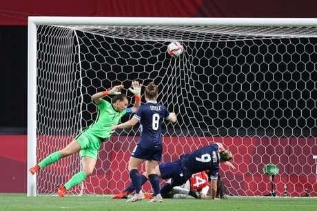 Grã Bretanha ganhou do Chile na cidade de Sapporo nesta quarta-feira (Divulgação/Time Grã Bretanha)