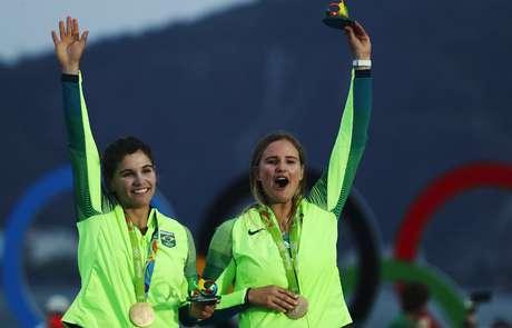 Martine e Kahena esperam repetir o ouro conquistado na Rio 2016