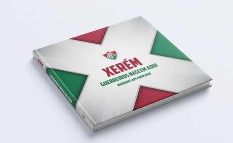Fluminense lança o livro sobre a formação de jogadores em Xerém (Foto: Comunicação/FCC)