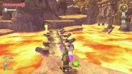 Ações são executadas com os botões na nova versão do game
