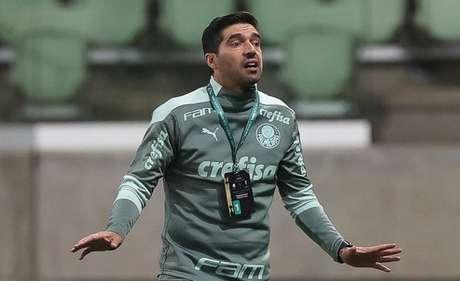 Abel Ferreira no comando do Palmeiras (Foto: Cesar Greco/Palmeiras)