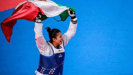Briseida Acosta fue medalla de bronce en los mundiales de Taekwondo.